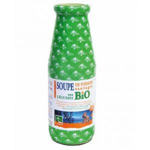 Soupe de poissons sauvages aux légumes BIO 720 ml