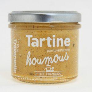 Tartine Houmous Pamplemousse