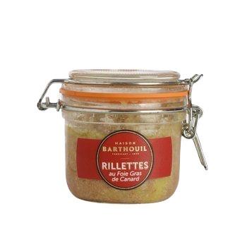Rillettes au foie gras de canard Maison Barthouil