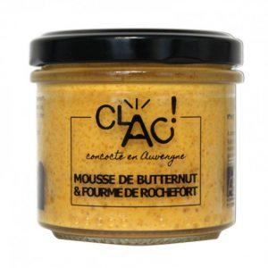 Mousse de Butternut et Fourme de Rochefort Bio 100g