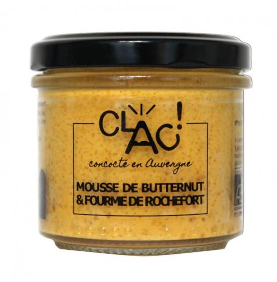 Mousse de butternut à la fourme bio
