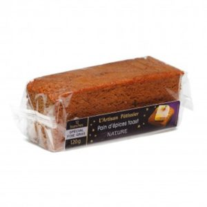 Pain d'Epices Toast nature 120g