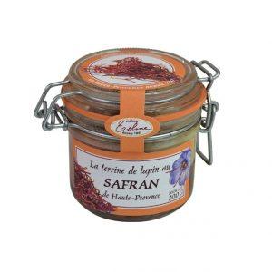 Terrine de Lapin au Safran de Haute-Provence 200g
