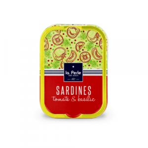 Sardines à la tomate et basilic 115g